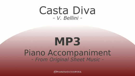 Casta diva piano accompaniment pianovoiceopera - Casta diva lyrics ...