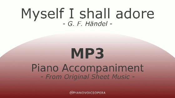 PianovoiceOpera Myself I shall adore Piano Accompaniment