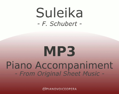 Suleika Piano Accompaniment