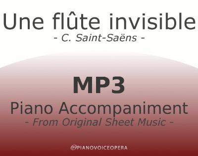 PianoVoiceOpera Une flute invisible Piano Accompaniment