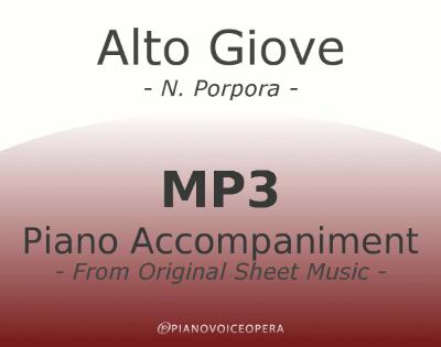 PianoVoiceOpera Alto Giove Piano Accompaniment