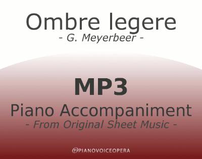 PianoVoiceOpera Ombre legere Piano Accompaniment