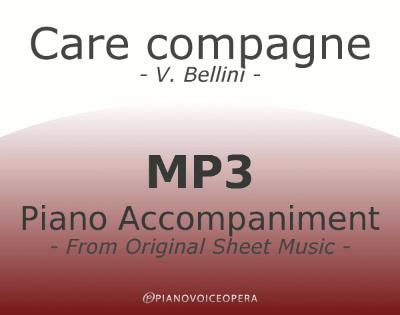 PianoVoiceOpera Care compagne Piano Accompaniment