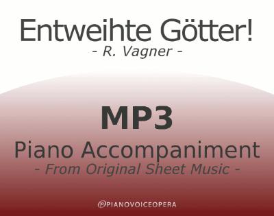 PianoVoiceOpera Entweihte Götter Piano Accompaniment