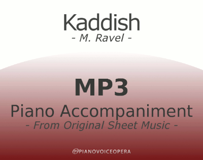 PianoVoiceOpera Kaddish Piano Accompaniment