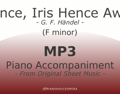 PianoVoiceOpera Hence, Iris Hence Away Piano Accompaniment (F-)
