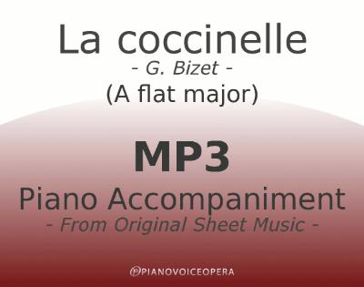 PianoVoiceOpera La coccinelle Piano Accompaniment