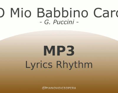 O mio babbino caro Lyrics Rhythm