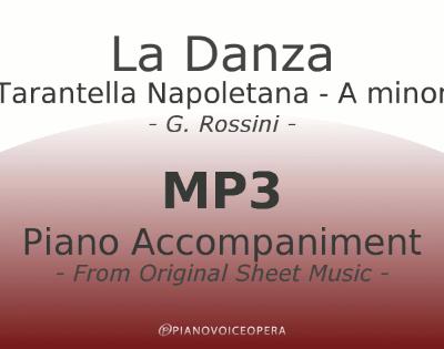 La Danza Tarantella Napoletana Piano Accompaniment