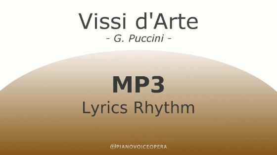 Vissi d'Arte Lyrics Rhythm