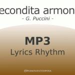 Recondita Armonia Lyrics Rhythm