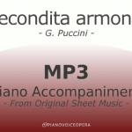 Recondita armonia Piano Accompaniment