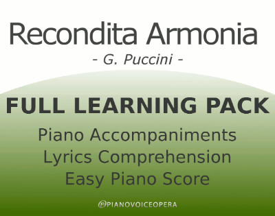 Recondita Armonia Full Learning Pack