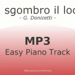 È sgombro il loco easy piano accompaniment track
