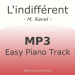 l'indifferent easy piano accompaniment track
