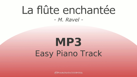 La flûte enchantée easy piano accompaniment track