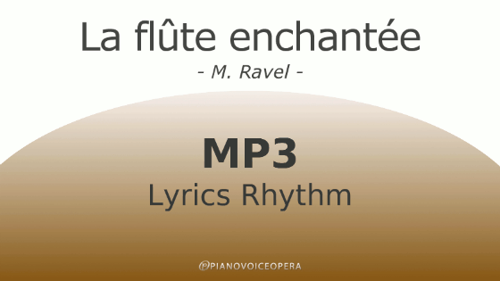 La flûte enchantée lyrics rhythm