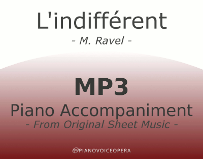 l'indifferent piano accompaniment