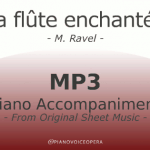 La flûte enchantée piano accompaniment