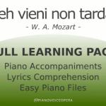 Deh vieni non tardar Learning Pack