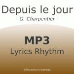 Depuis le jour lyrics rhythm